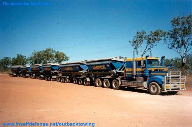 ShangralaFamilyFun.com - Shangrala's Road-Train Trucks!