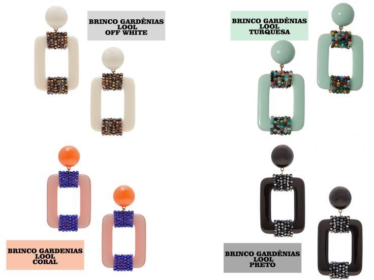 POWERLOOK - Aluguel de Vestidos Online – Brincos Gradênias da Lool são lindos para compor seu look !! Confira as novidades em nosso blog e site e ARRASE! #alugueldevestidos #powerlook #madrinha #casamento #festa #lookcasamento #lookmadrinha #lookfesta #party #glamour #euvoudepowerlook #dress #dreams #arrase #alugue #devolva #modaconsciente #beauty #beautiful #clutch #bolsa #brinco #pedras #acessorio #lool #gardênias #offwhite #turquesa #coral #preto
