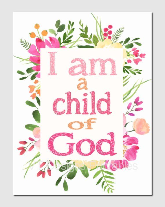 photograph relating to I Am a Child of God Printable titled I am a boy or girl of God, John 1:12, Scripture, Sunday College or university