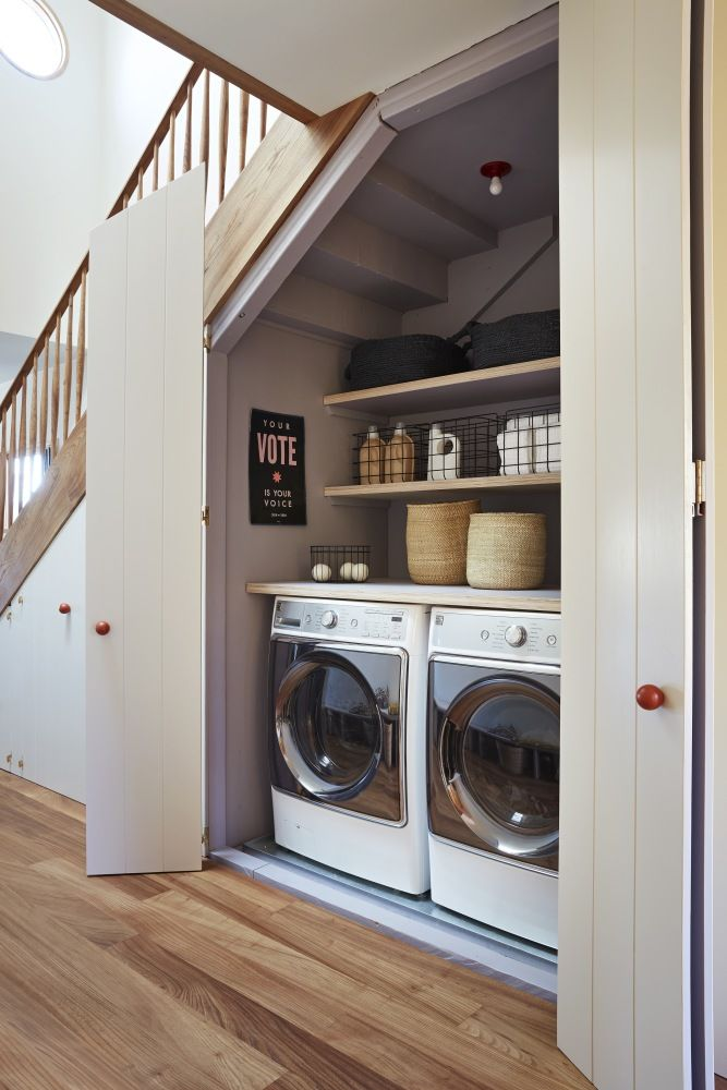 Organization Experts On The Art Of Keeping The Laundry Room Tidy