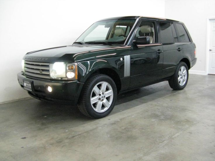 2003 Land Rover Range Rover HSE 4WD  with BMW engine | Palace Auto Center  #LandRover #RangeRover #HSE #BMWengine #SUV #cars #forsale