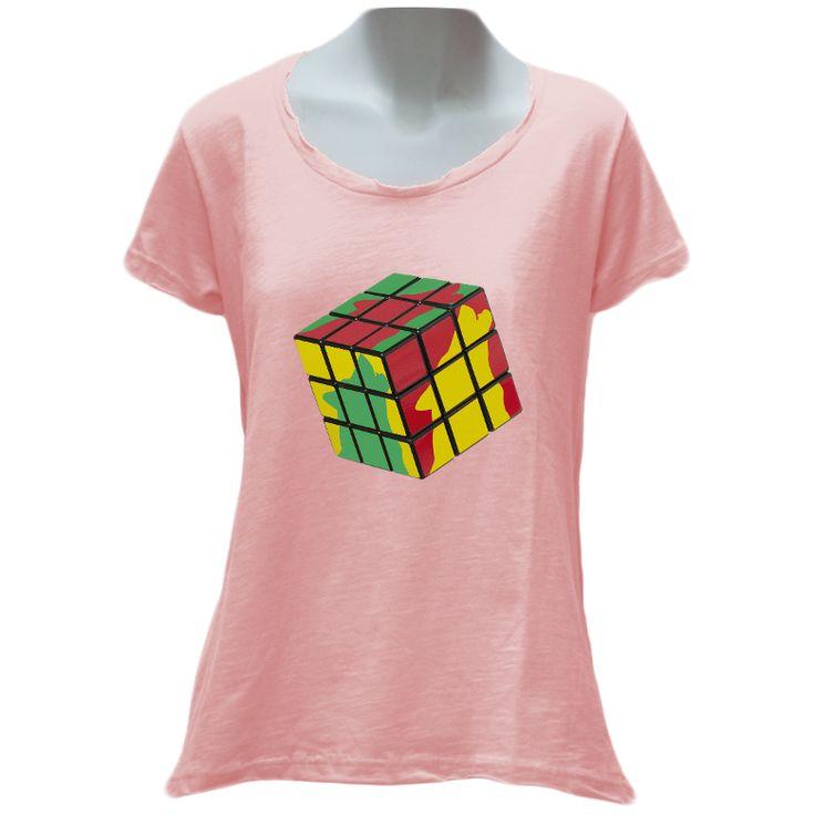 Wolfish Cube Ladies T-Shirt – WOLFISH WORKSHOP