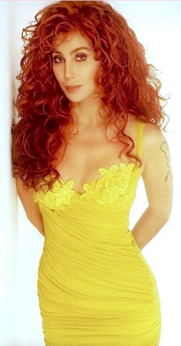 Cher - 1990's photo shoot for the Love Hurts tour