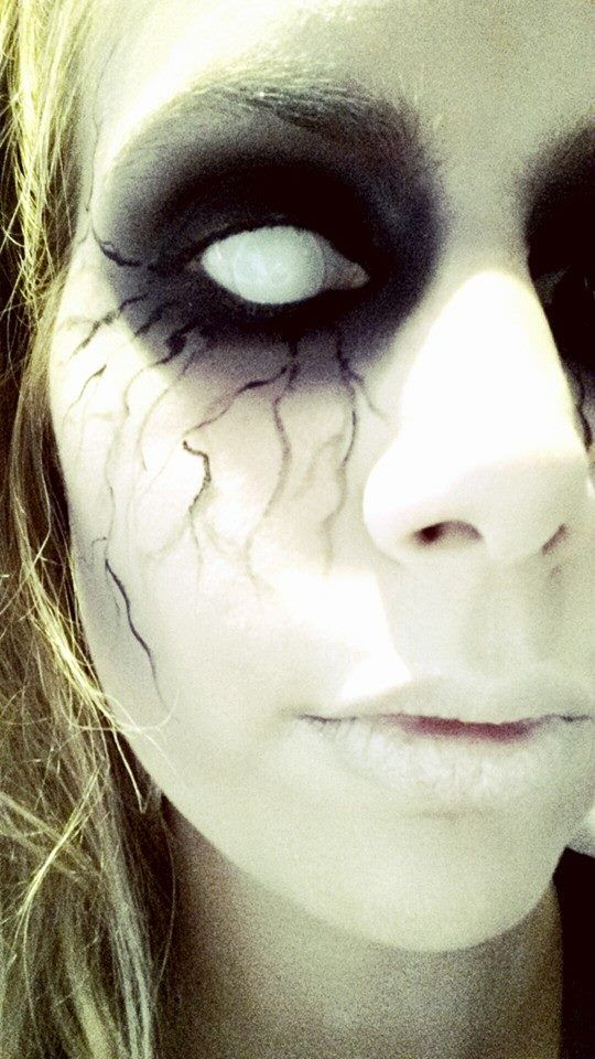 17 Best Images About My Crazy Makeup On Pinterest | Haunted Dolls Ink Splatter And Annabelle Doll