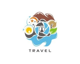 TRAVEL Logo design - Descriptions of trips and vacations. Price $200.00