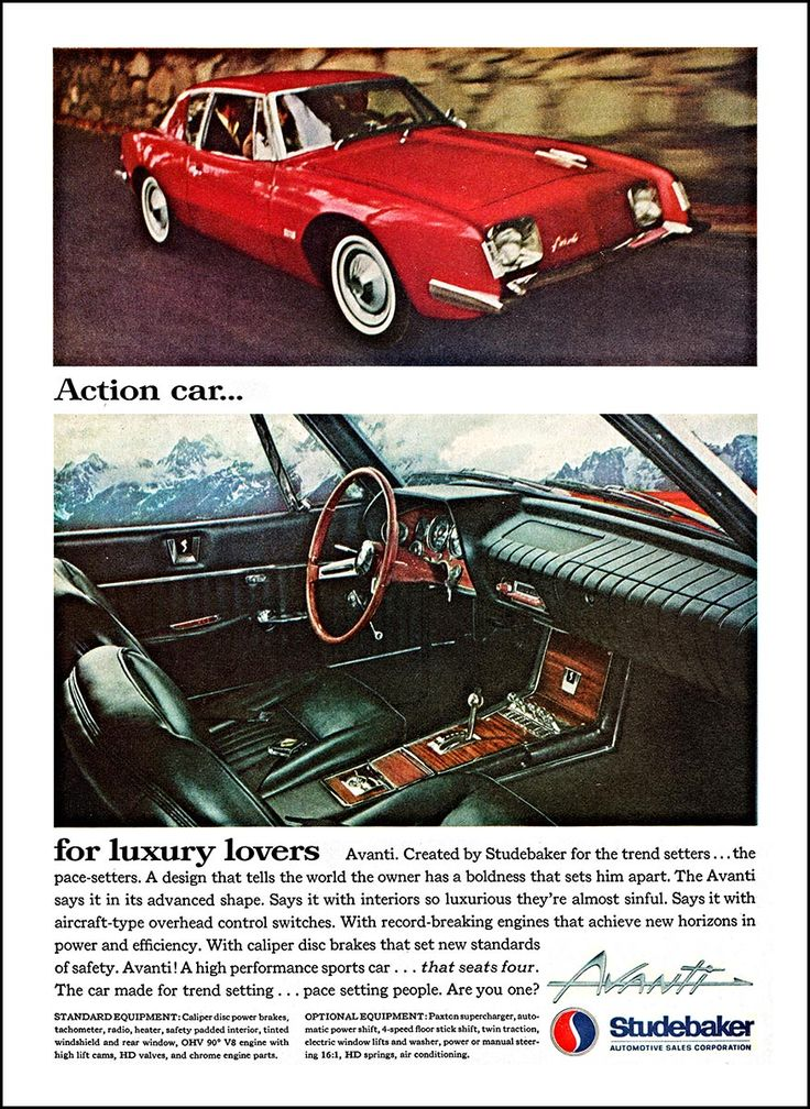 185 best Classic Marques - Studebaker images on Pinterest   Antique ...