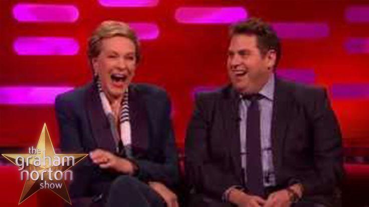 Jonah Hill's Awkward Car Ride With Morgan Freeman - The Graham Norton Show