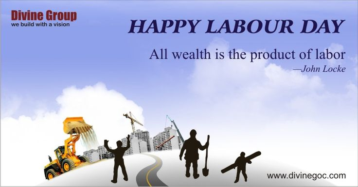 Divine Group wishes you all a very Happy Labour Day ‪#‎divinegroup‬