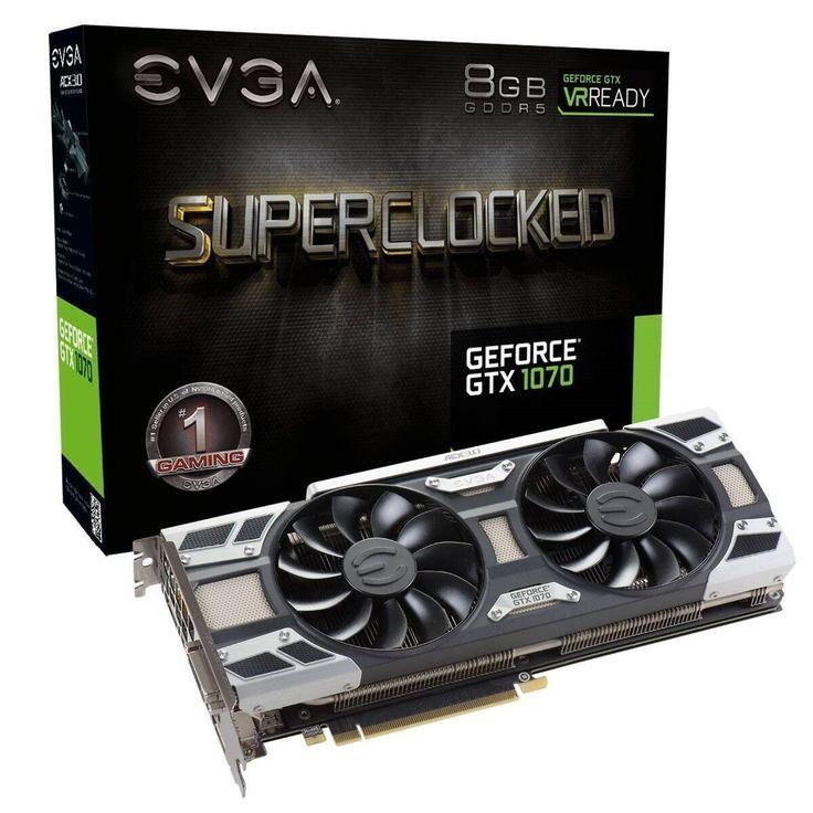 Annons på Tradera: EVGA GeForce GTX 1070 SC Gaming grafikkort 8GB