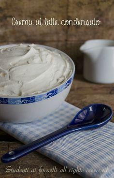 crema al latte condensato senza cottura per farcire torte crema paradiso veloce con panna