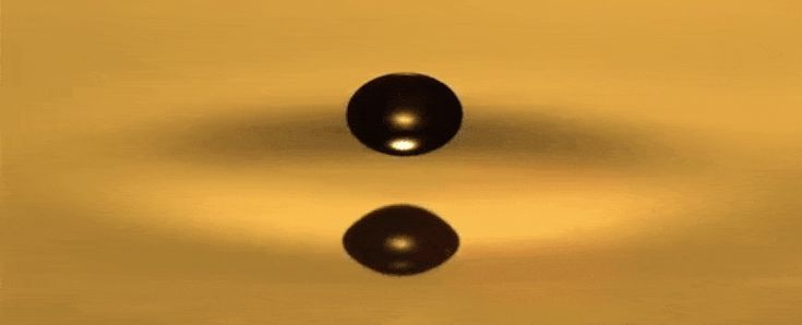 These levitating droplets behave strangely like quantum particles - ScienceAlert