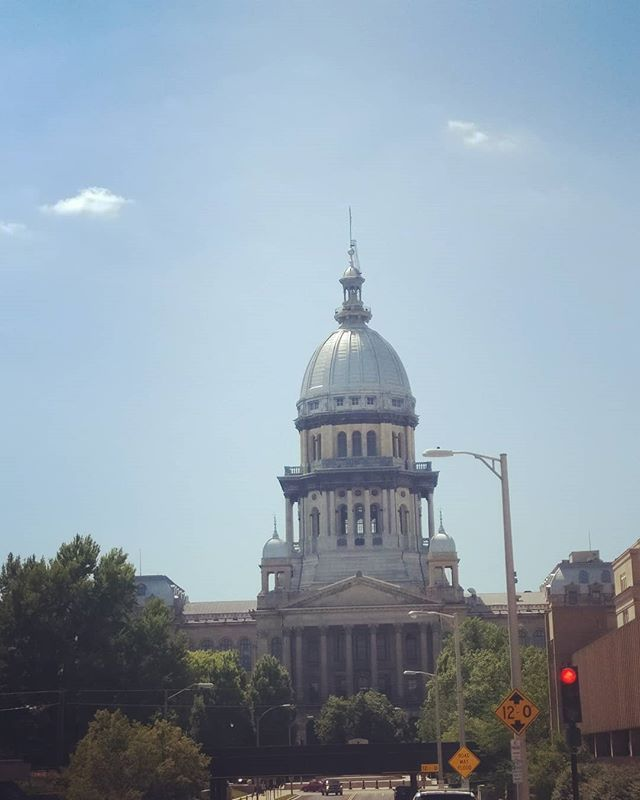 Illinois State Capital Has Beautiful Architecture I Was Taken