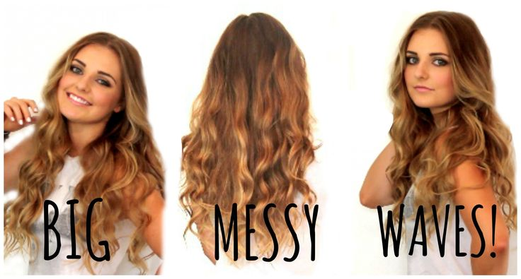 How To Get Big Messy Waves | HauteBrilliance