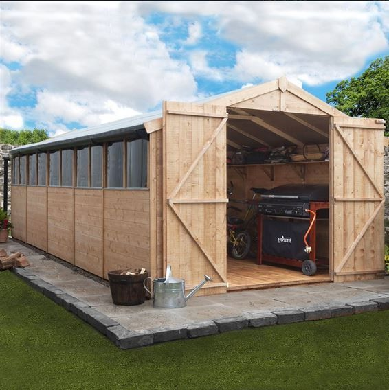 Garden Sheds 20 X 10 25 best cheap sheds uk images on pinterest | cheap sheds uk, cheap