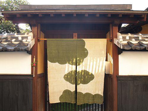直島の暖簾3