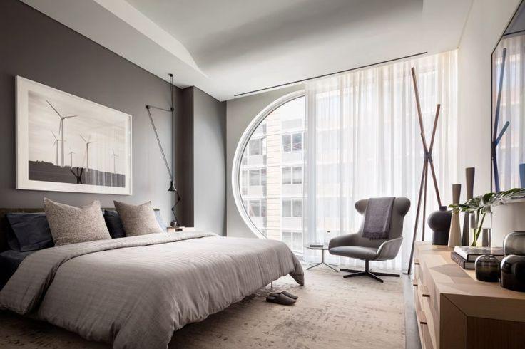 Model apartments offer a taste of life inside Zaha Hadid's New York condo building