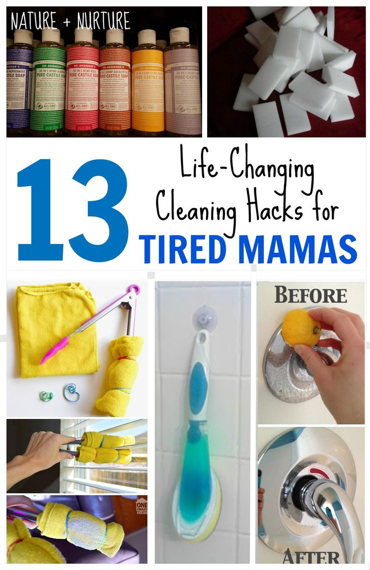 Tired of cleaning? Try these tips!