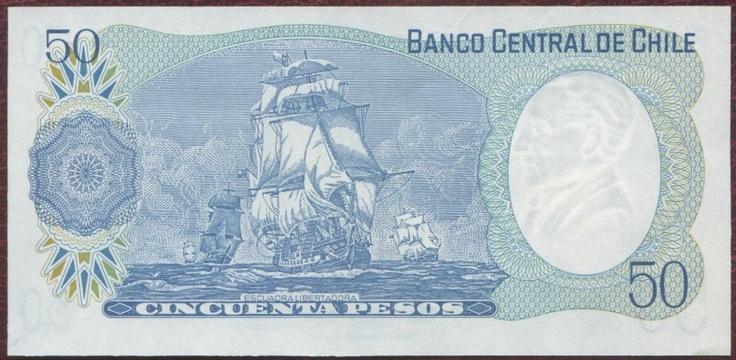 CHILE 50 PESOS (1981)