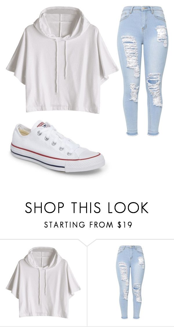 """Untitled #983"" by alanawedge59 on Polyvore featuring Converse"