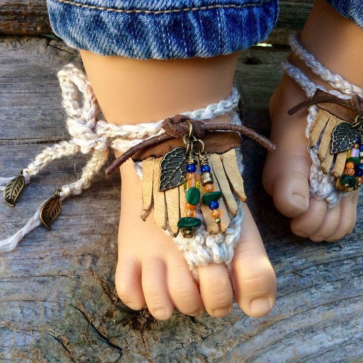 Boho baby genuine leather sandals booties shoes beaded gladiator toe anklets cotton beachwear clothes girls boys unisex shower gift newborn by Rosebudbabydesigns on Etsy