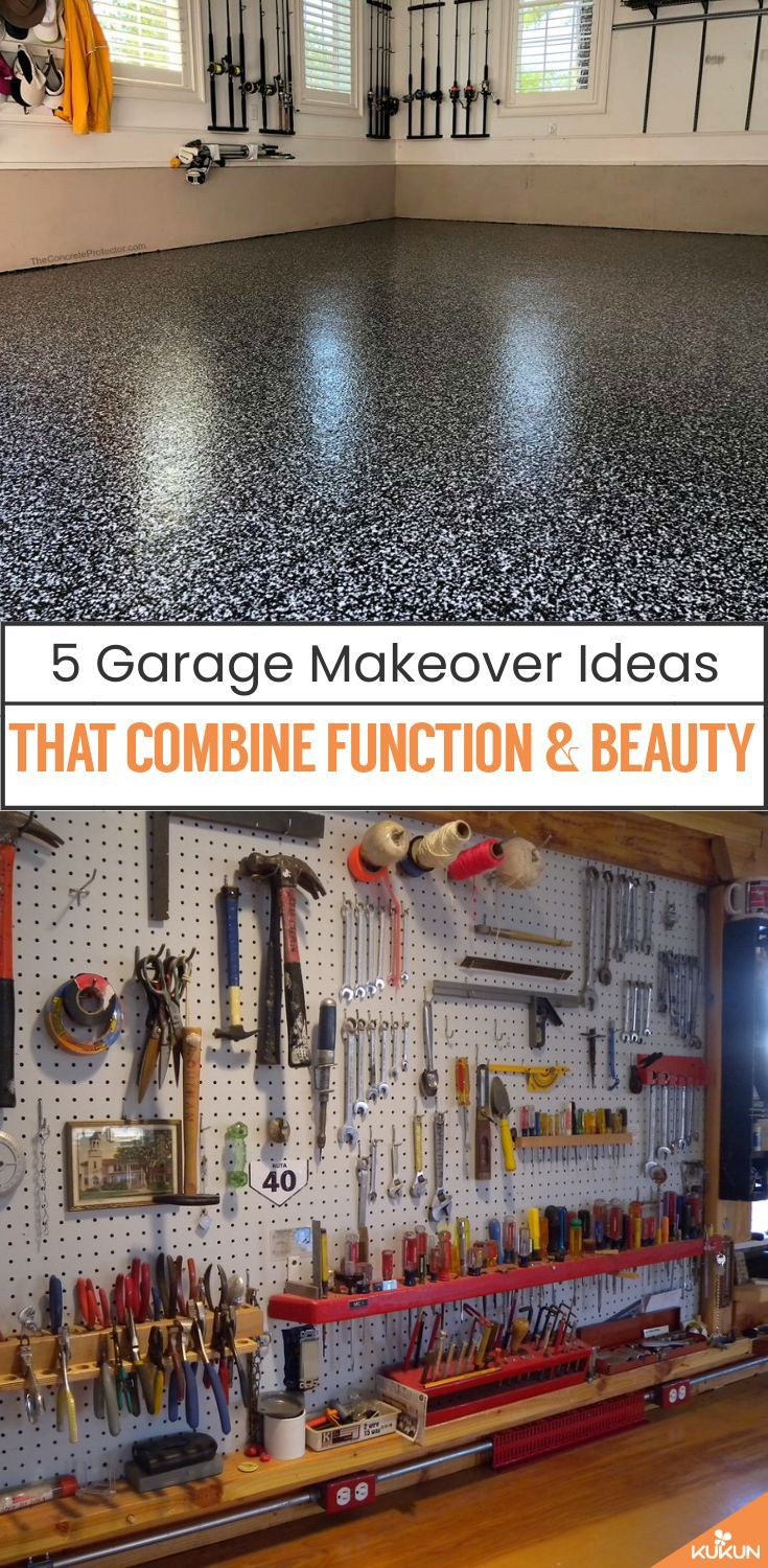 5 Garage Makeover Ideas That Combine Function And Beauty Kukun