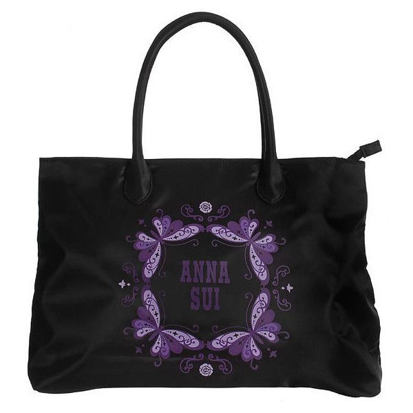 Anna Sui - Tote Bag 1 pc (110 BRL) ❤ liked on Polyvore featuring beauty products, beauty accessories, bags & cases, bags, cosmetics and anna sui