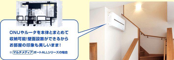 宅内lan配線がある時 ない時 配線 設備 インターネット
