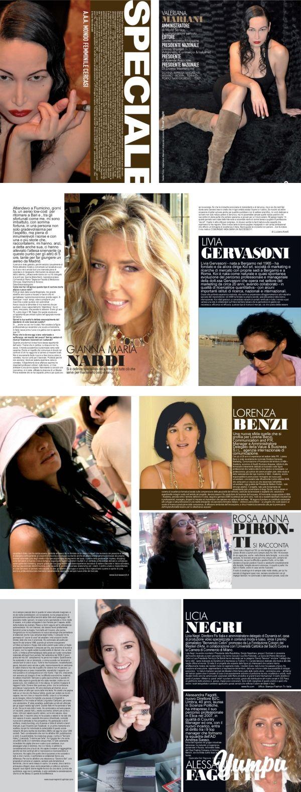 01 STORIA DI COPERTINA - SPEC... - Donna Impresa Magazine - Magazine with 5 pages: 01 STORIA DI COPERTINA - SPEC... - Donna Impresa Magazine
