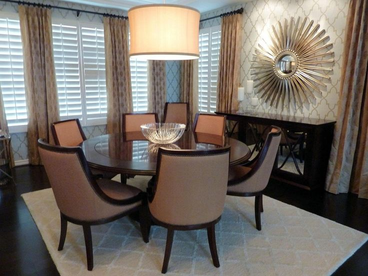 Formal Round Dining Room Tables Glamorous Design Inspiration