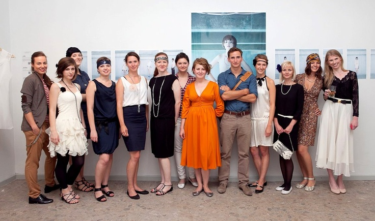 Opening of the exhibition called NEWINTAGE (our CZECHDESIGN team)