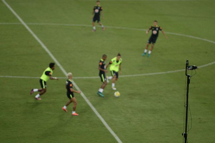Super câmera, tripé e aplicativo: Brasil investe em tecnologia para ir à Copa #globoesporte