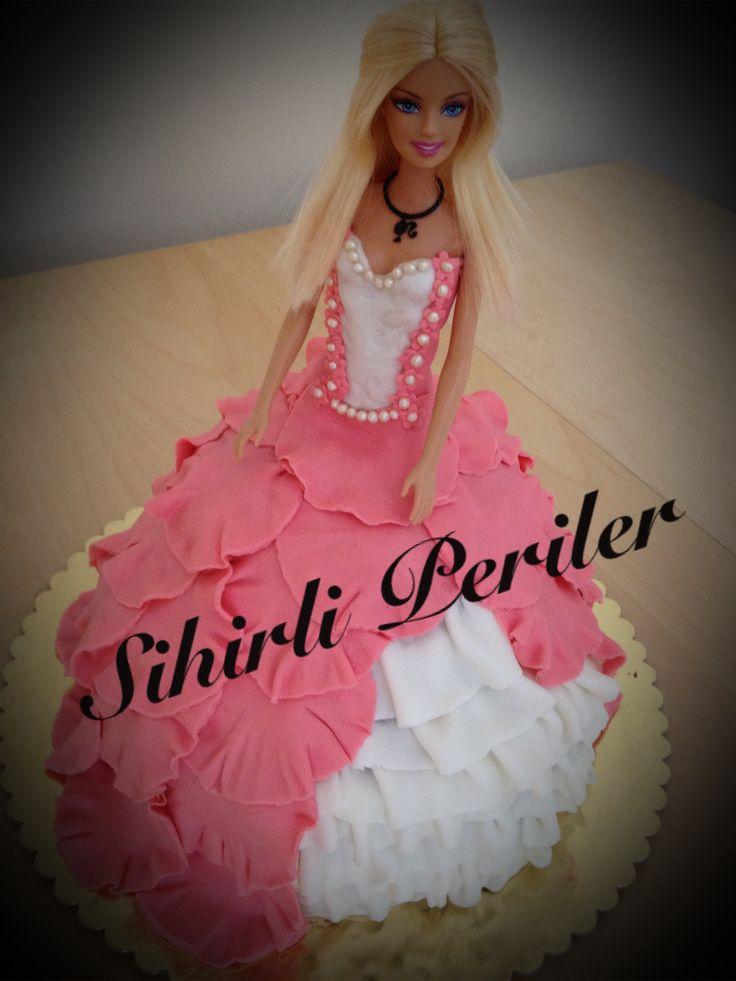 Barbie cake  Barbie pasta