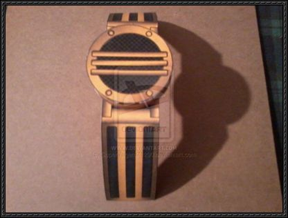 This papercraft is a Wrist Communicator, based on the TV series Power Rangers Zeo, this paper model is created by SuperVegeta71290. Power Rangers Zeo is an