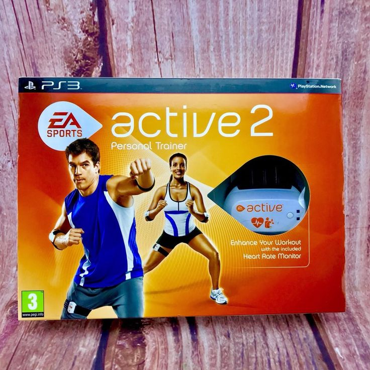 EA Sports Active 2 Personal Trainer PS3 Fitness Game PlayStation 3 New & Sealed