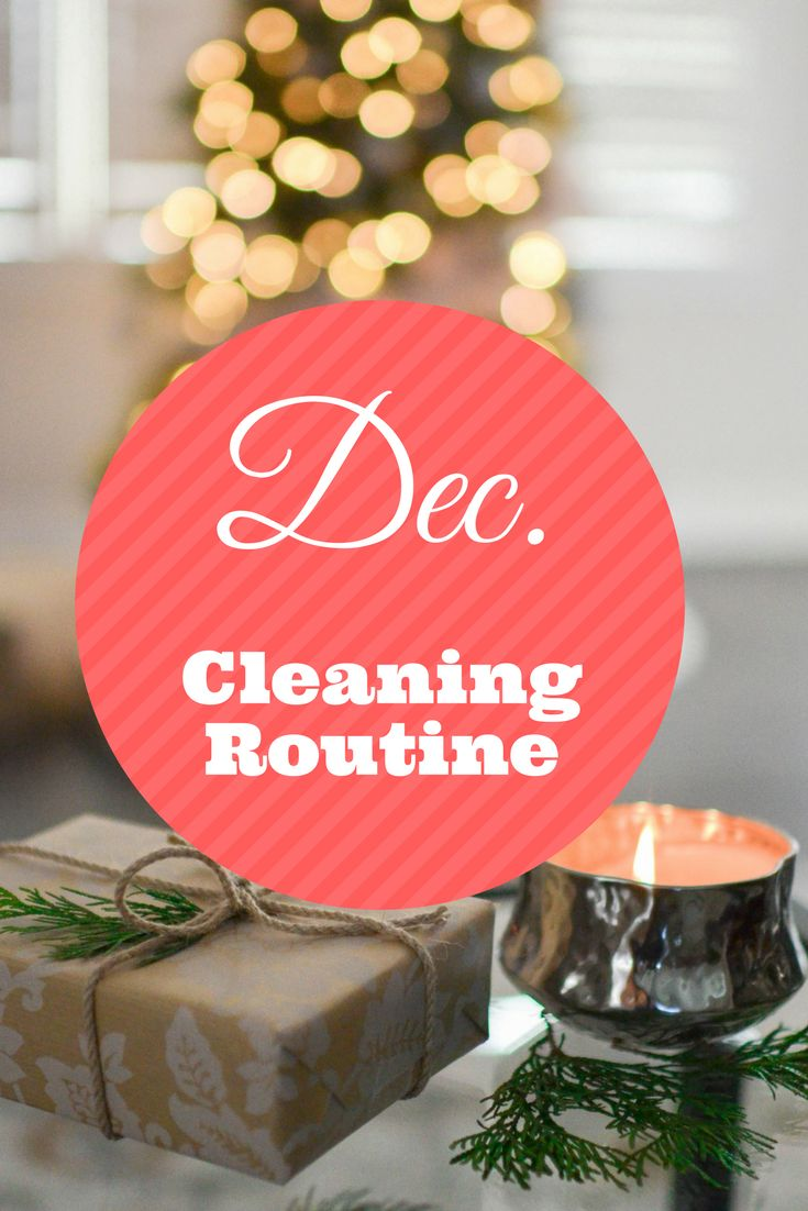 Do you need some cleaning motivation for the holidays? Check out my cleaning routine for December + get ready with me for the holidays!