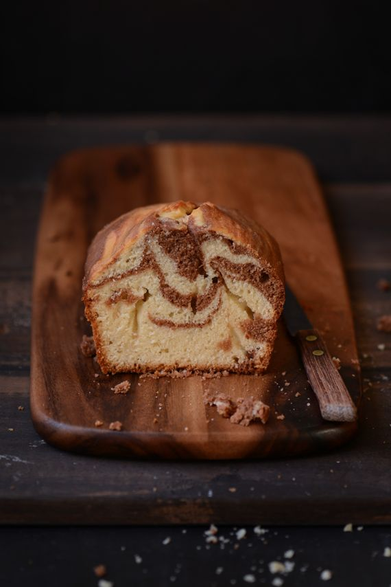 Madame Gateau: Gâteau marbré au chocolat et à la vanille