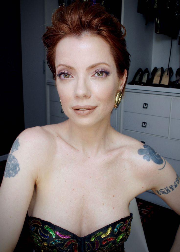 Julia Petit tutorial para look do segundo dia da semana de moda