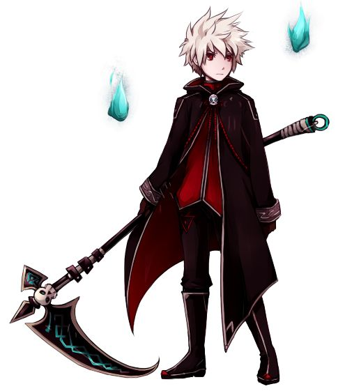 elsword, anime, boy