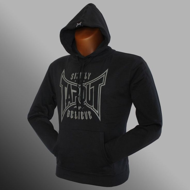 Mikina Tapout Simply Believe black