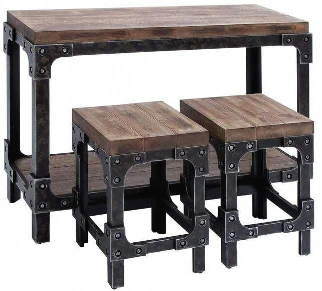 Cheap Furniture Stores Furniturebedroom Id 7705425292 In 2020 Industrial Style Table Industrial Table Pub Table Sets
