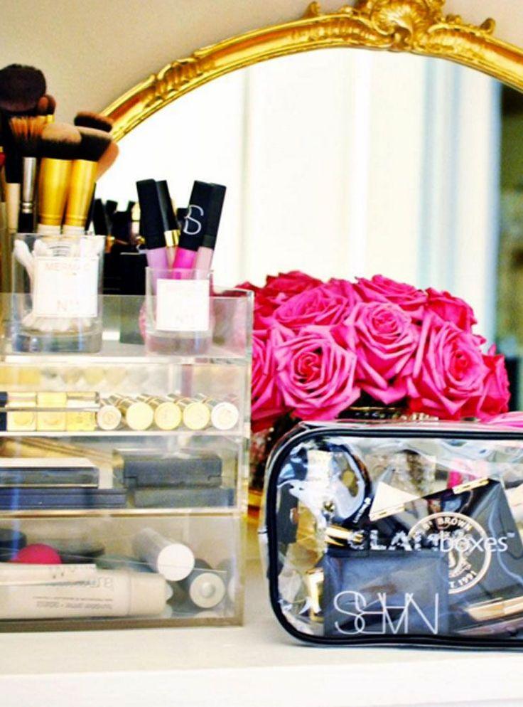 21 fashion girl ways to organize your makeup