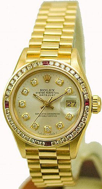 - Item Number: LDSPRESYGDBSLVRBY - Brand: Rolex - Model Number: 69178 - Series…