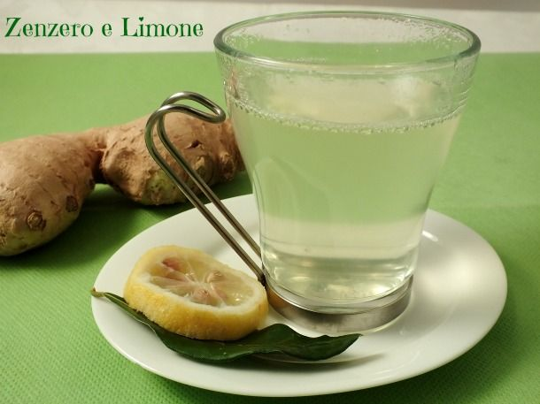 TISANA DIGESTIVA |ricetta fai da te | Zenzero e Limone