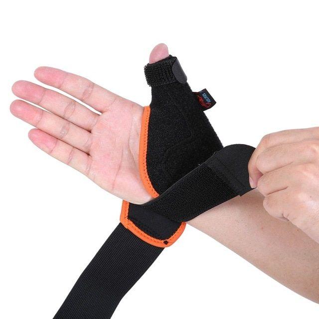 Hand Wrist Thumb Spica Splint Stabilizer Support Brace Gym Arthritis Protection