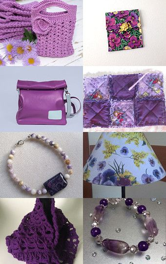 The Power of Purple by Tamara Mesenbourg on Etsy--Pinned with TreasuryPin.com