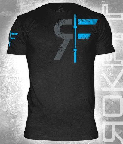 RokFit Black Logo T-shirt