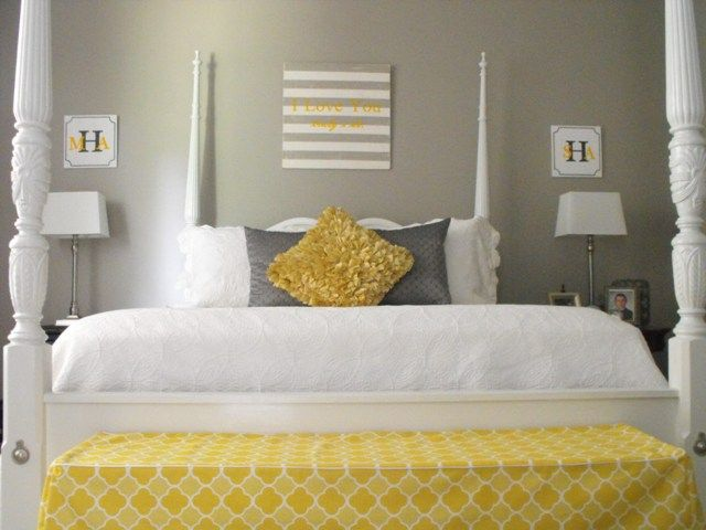 Color Scheme for 'You are My Sunshine' Party... (MS Cobblestone Paint = Gray)