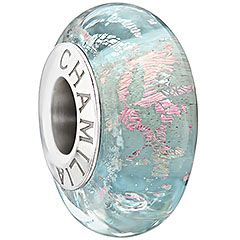 Allure - Turquoise    Captivez les regards. La bead Allure affiche des éléments rose et or qui scintillent élégamment, compressés dans un verre d'art Turquoise chic.    N° d'article: 2116-0093