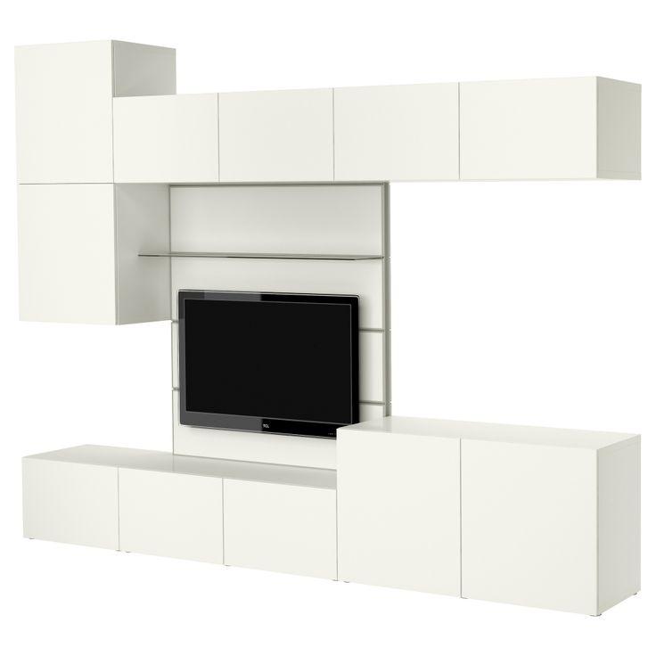 26 best besta images on pinterest | high gloss, tv storage and ikea - Soggiorno Ikea Besta Tofta