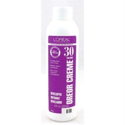 Loreal Oreor Creme 30 Volume Developer 8oz (3 Pack) >>> You can get more details by clicking on the image.